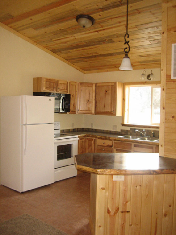 Click for larger Lava Hot Springs Idaho Duplex Kitchen photo